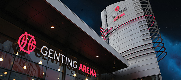 GENTING ARENA - ENGLAND