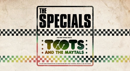 The Specials and Toots and The Maytals will debut the space