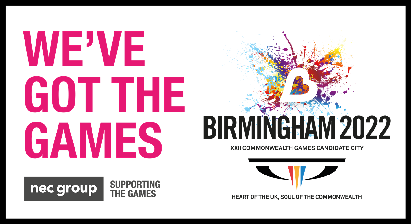 The Commonwealth Games will be coming to Birmingham in 2022