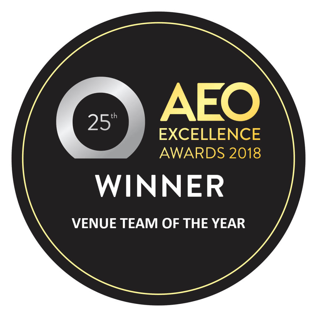 Venue Team of the Year: AEO Excellence Awards