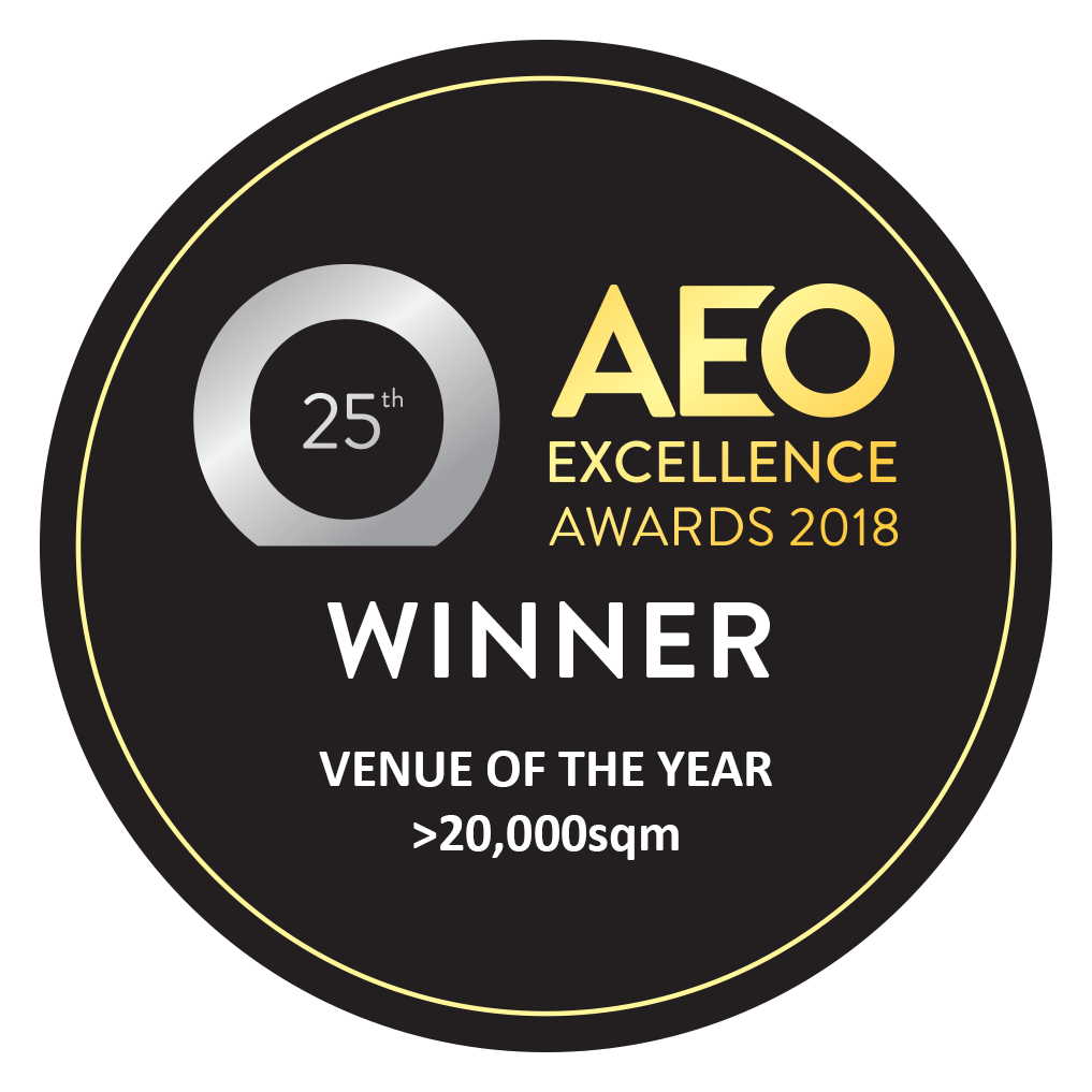 Venue of the Year > 20000SQM: AEO Excellence Awards