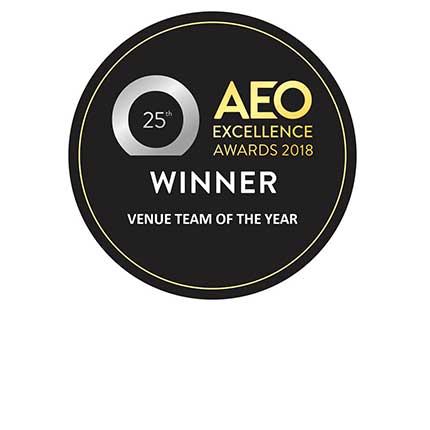 Venue Team Of The Year: AEO Excellence Awards award image