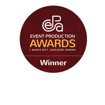Best Ticketing Company: Event Production Awards award image