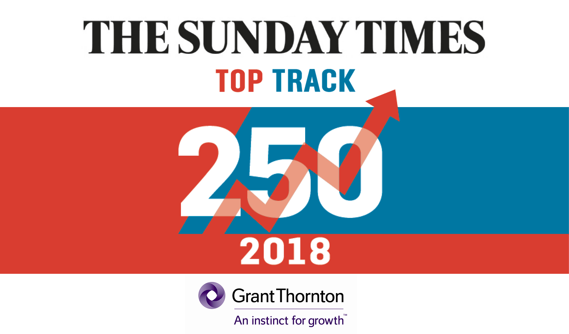 Sunday Times Grant Thornton Top Track 250 2 award image