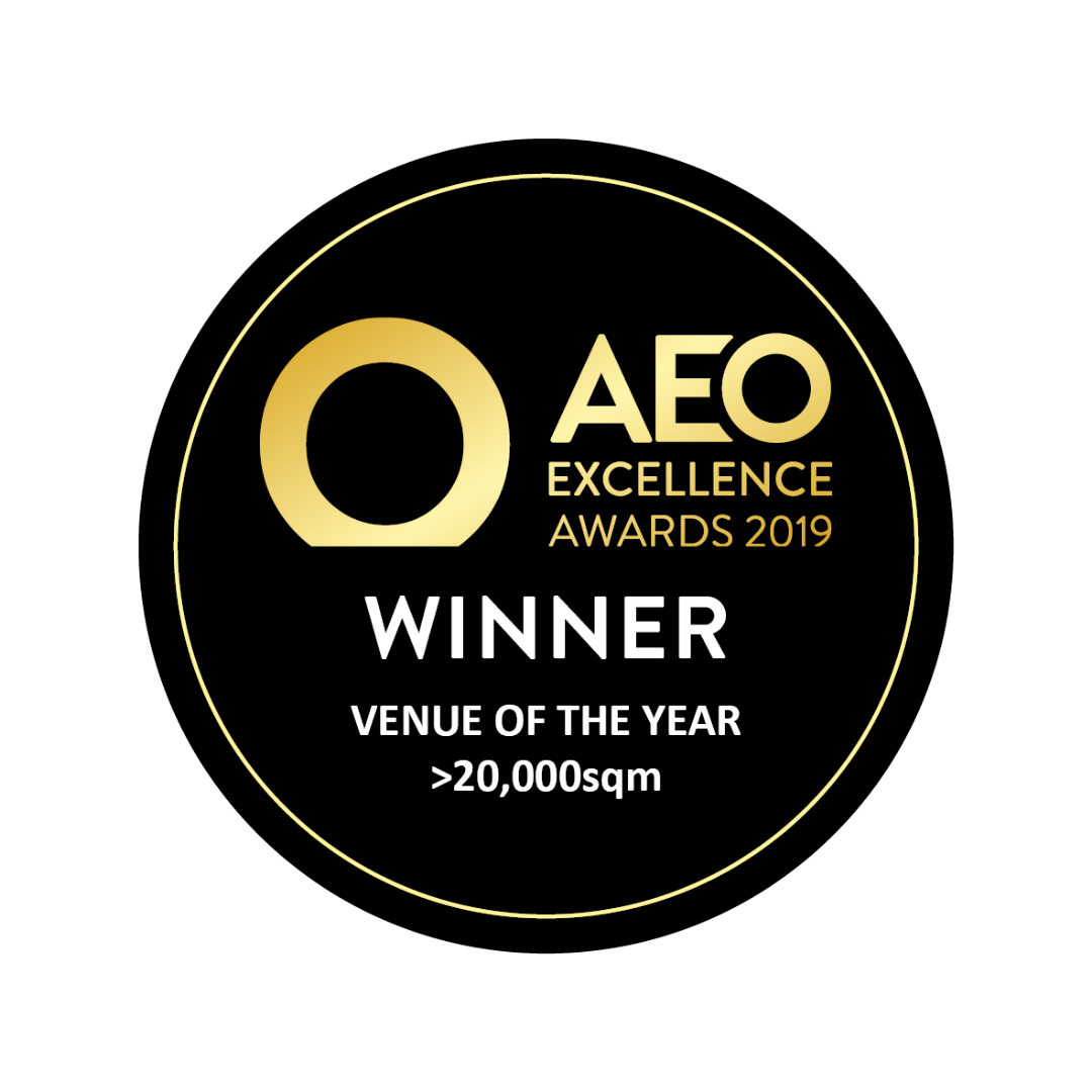 Association of Event Organisers (AEO ) Awards: Best Venue over 20,000sqm
